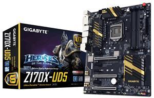 GigaByte Ultra Durable Series GA-Z170X-UD5 Socket 1151 Motherboard